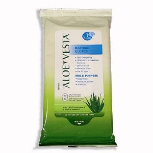 Aloe Vesta Bathing Cloth, 24pack